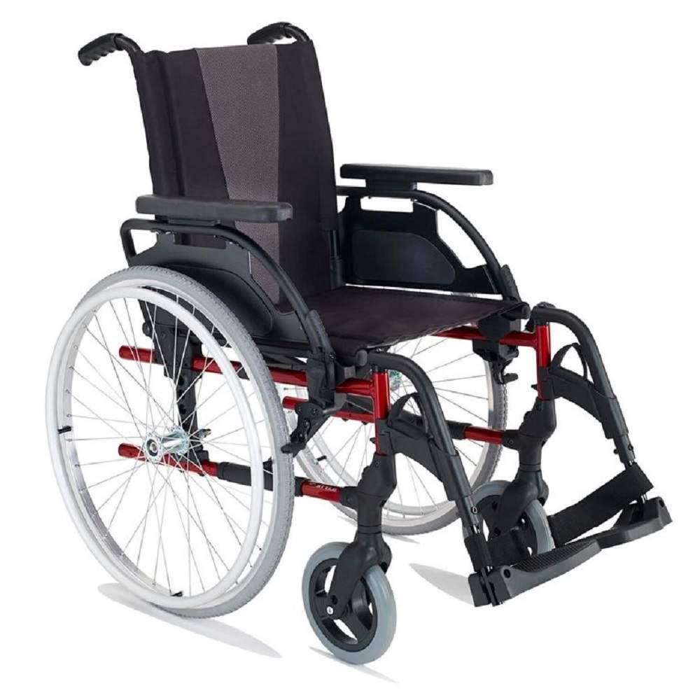 Breezy Style Alüminyum Manuel Tekerlekli Sandalye (24Arka Tekerlekler)