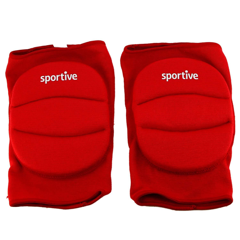 Sportive Kırmızı/Beyaz Koruyucu Dizlik SPT-23100KRM-23100BYZ