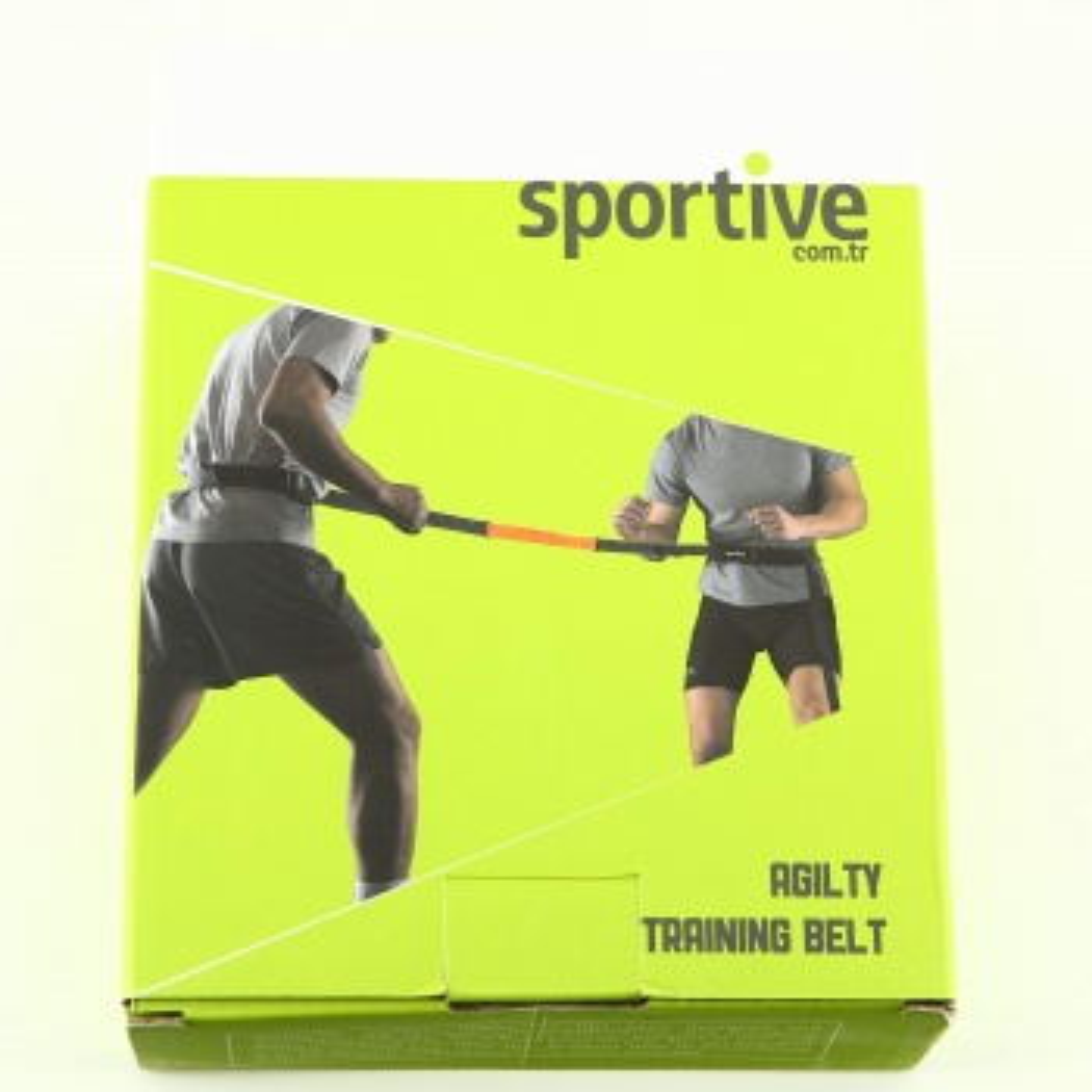 Sportive Flexibility Siyah Fitness Çeviklik Antrenman Kemeri