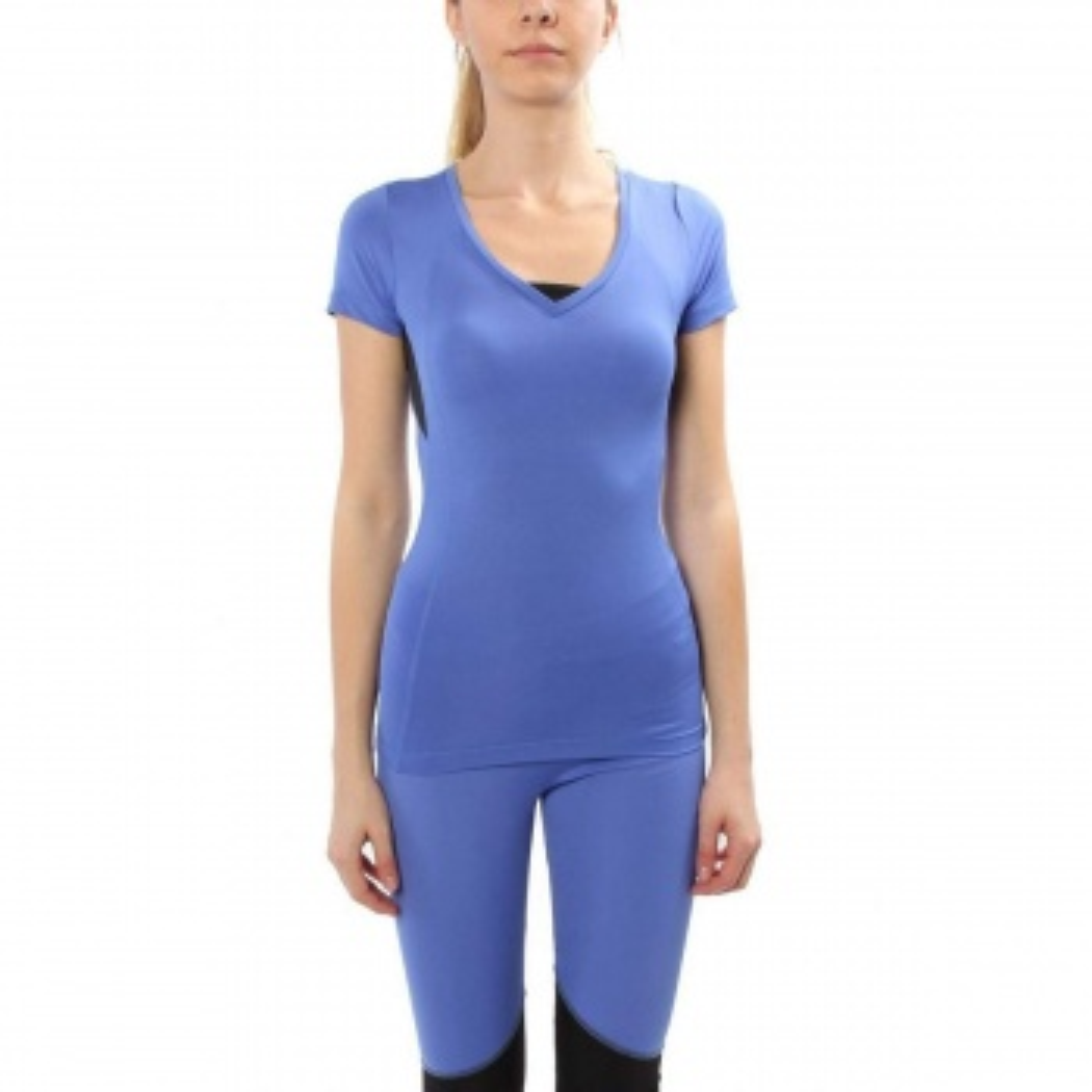 Sportive Mikarena Kadın Mavi Günlük Stil Tişört 210440-00L