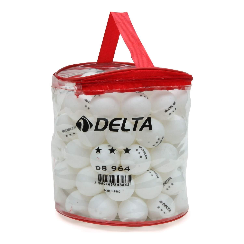 Delta 100lü Çantalı Masa Tenisi Topu (Pinpon Topu)