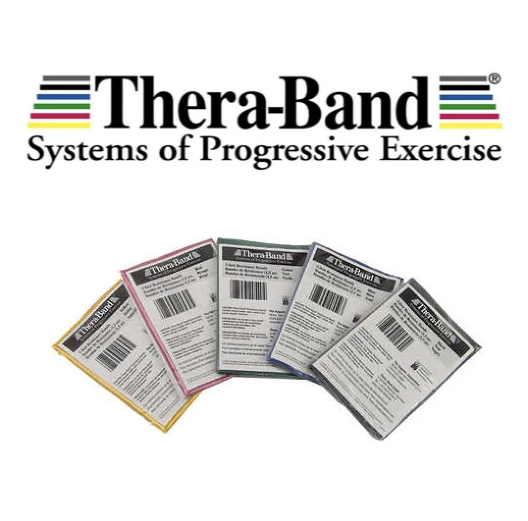 Theraband Egzersiz Plates Bandı 1,5 Metre Tekli Paket